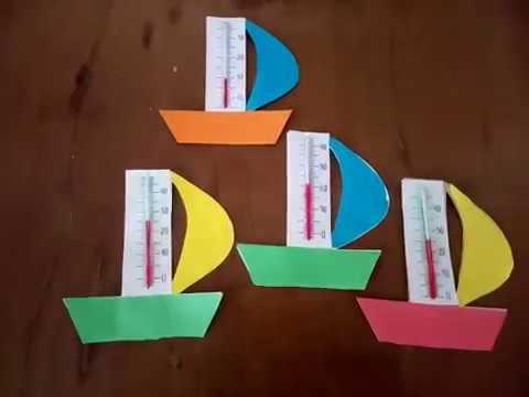 Как сделать термометр из картона своими руками для школы