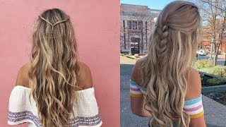 Latest Beautiful hairstyle for Long Hair girls | Bun hairstyles for Girls #8