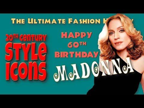 20th CENTURY STYLE ICONS: Madonna