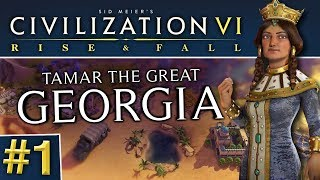Video Civ 6: Rise and Fall #1 - Beelining for the Dark Age download MP3, 3GP, MP4, WEBM, AVI, FLV Maret 2018