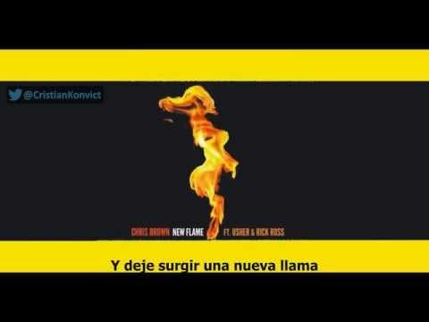 Chris Brown Ft Usher  - New Flame ( Sub. Español / English )