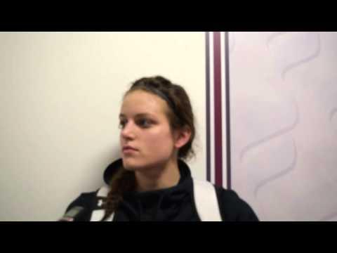 Deidra Combs post game 3/1/16 vs Concord
