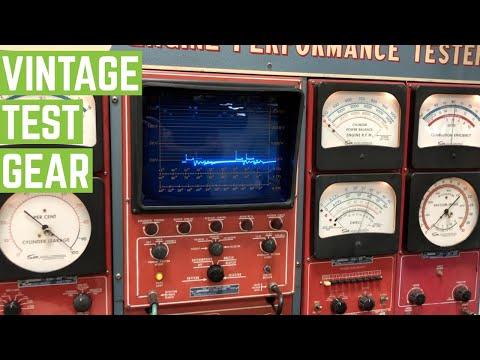 RESTORED Sun Engine Performance Tester OLD SCHOOL DIAGNOSTICS