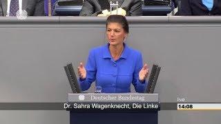 """""""Wer zu spät kommt, den bestraft das Leben"""" Sahra Wagenknecht 17.10.2018 - Bananenrepublik"""