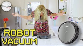 ILife Vacuum FUN Review -- How to Vacuum Indoors and Outdoors with a Robot Vacuum