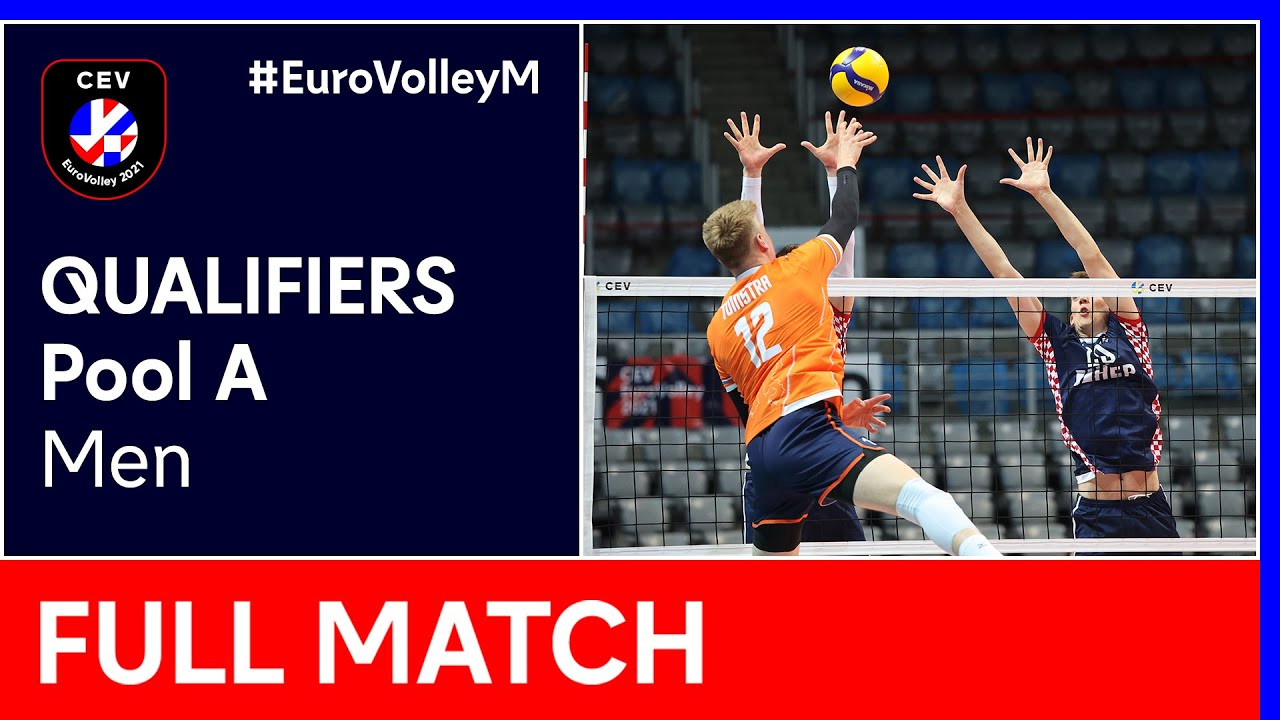 Download Croatia vs. The Netherlands - CEV EuroVolley 2021 Qualifiers Men