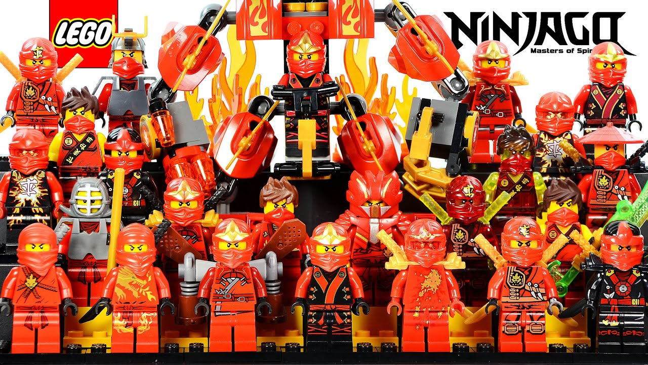 Lego ninjago kai the red ninja of fire 2015 minifigure ultimate collection youtube - Photo lego ninjago ...