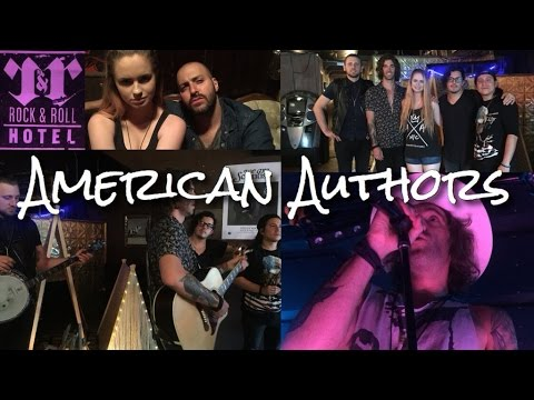 AMERICAN AUTHORS CONCERT VLOG 4-26-16