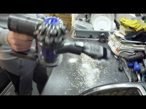 Demo / Test: Dyson V6 Triggerpro (DC58 Animal) cordless vacuum cleaner