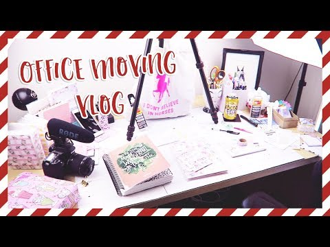 Packing My Sticker Office // AUSSIE MOVES TO FINLAND