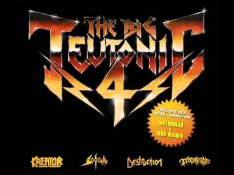 Destruction/Kreator/Sodom/Tankard - The Big Teutonic 4 (FULL SPLIT)