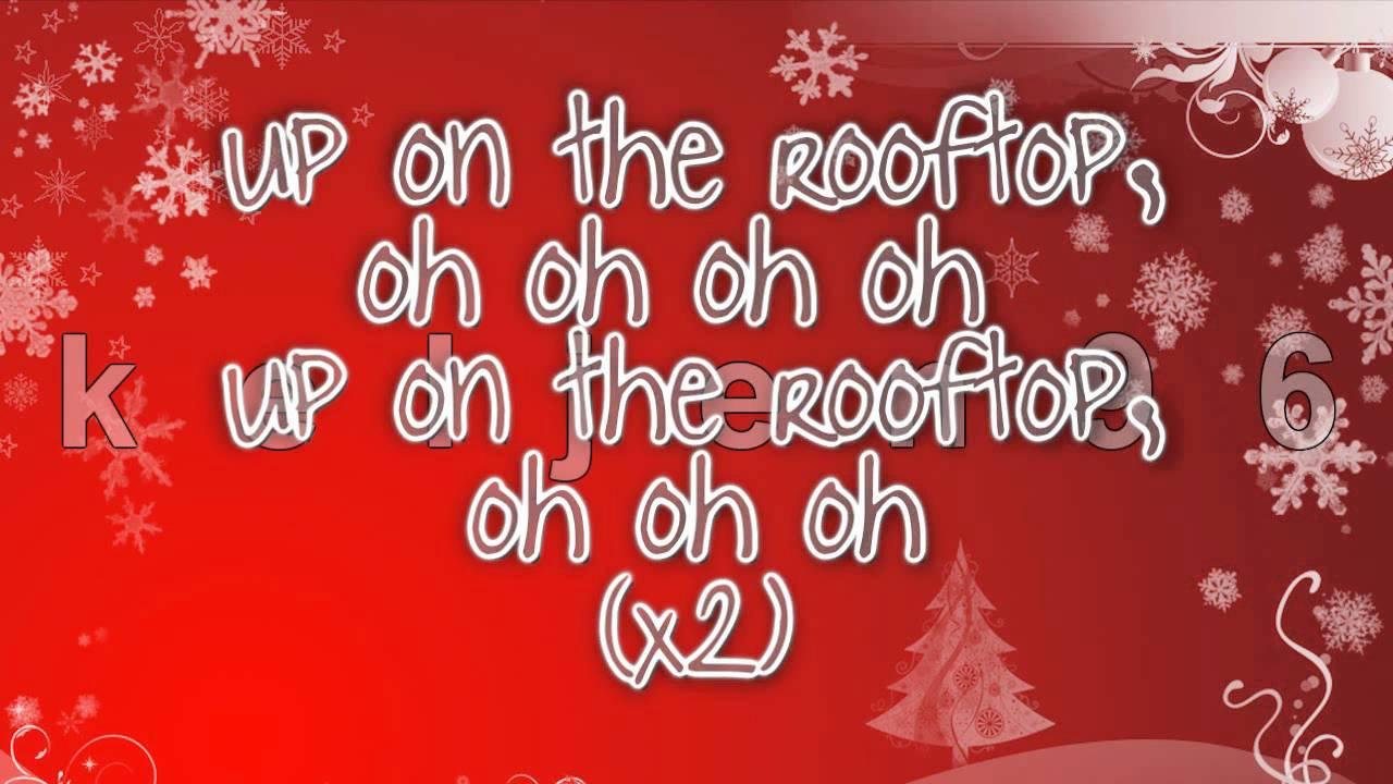 Glee Cast Deck The Rooftop Lyrics Youtube