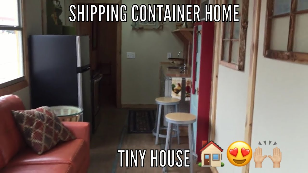 Best Kitchen Gallery: Shipping Container Home 8x40 Youtube of Rustic Shipping Container Homes on rachelxblog.com