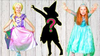 Learn and guess the shadows Princesses edition. Little baby Song