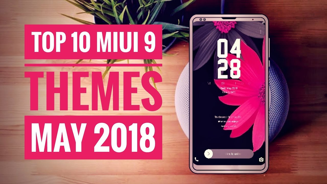 Top 10 Amazing Themes For MIUI 9
