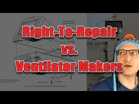 Using Copyright To Control Ventilator Repair Manuals