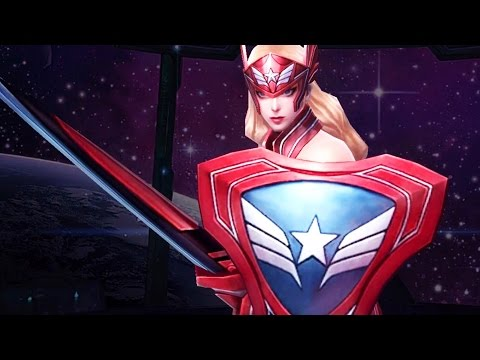 Marvel: Future Fight - Captain America (Sharon Rogers/Carter)
