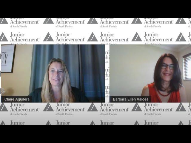 Junior Achievement Speak Series | Careers in Finance with Barbara Valdes