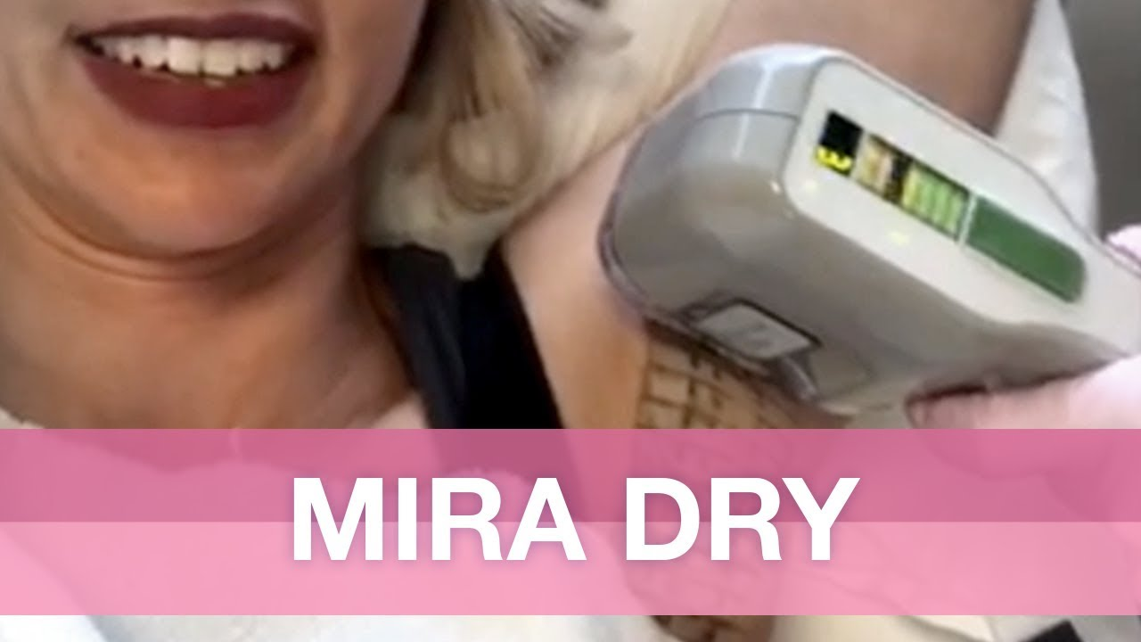Watch me get a miraDry treatment for Permanent Sweat Reduction!.