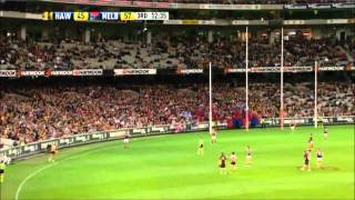 Hawthorn vs Melbourne 3rd Qtr Highlights Round 2 2011