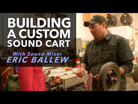 Building A Custom Sound Cart With Sound Mixer Eric Ballew | URSA Exclusive