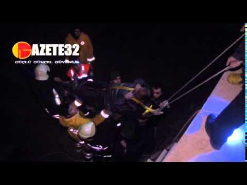 Isparta'da trafik kazası  1 ölü, 2 yaralı