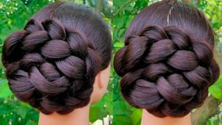 Very Easy And Simple Juda Hairstyle  || Everyday Girls Hairstyle || Hair Style Girl || Bun ||