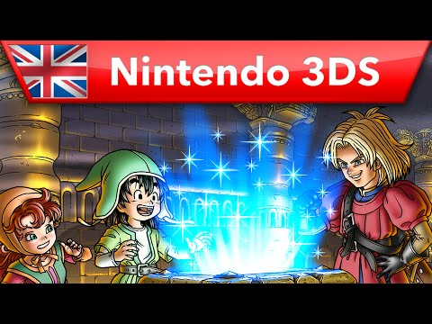 Dragon Quest VII - Overview Trailer (Nintendo 3DS)