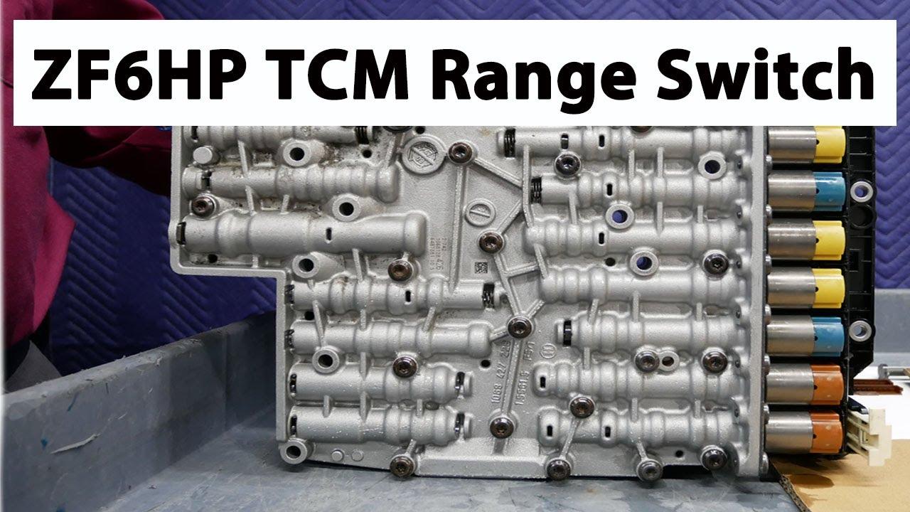 ZF6HP Transmission Control Module (TCM) Range Switch