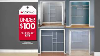 Quick Start Closet Kits