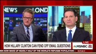 Scarborough Advises Hillary: Refuse to Answer Email Questions