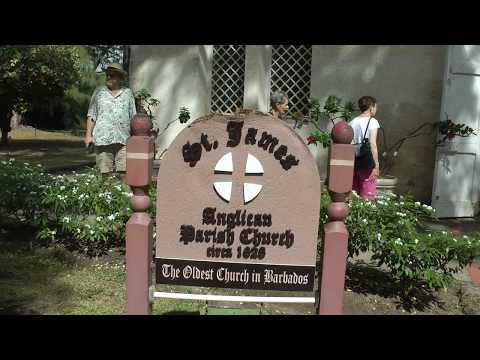 Scenes From St. James Church In Holetown, Barbados