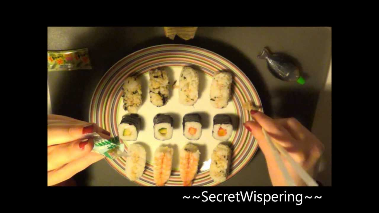 ~Relaxing~  (*_*) Sushi Talk (*_*) --- (Soft spoken)