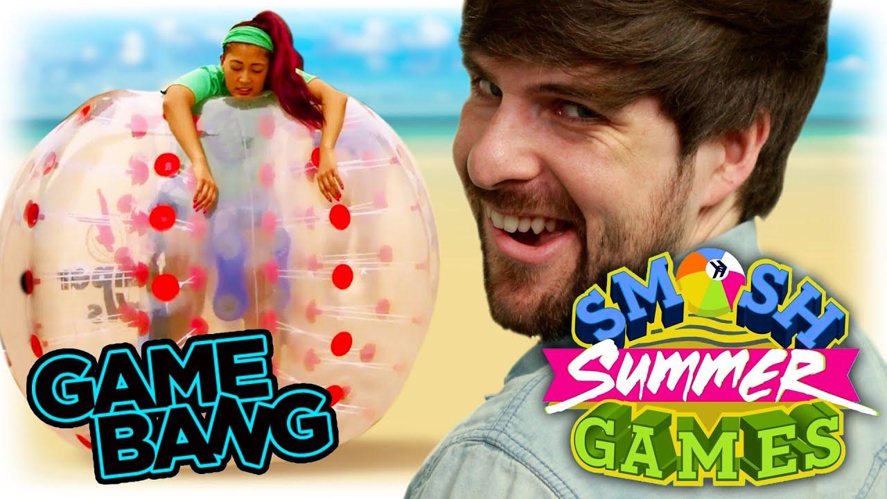 BALLS DEEP SOCCER (Smosh Summer Games) - YouTube