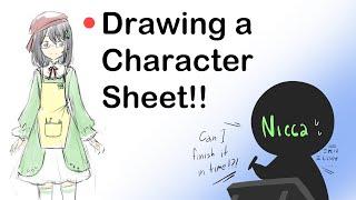 🔴[Nicca]Drawing Character Sheet