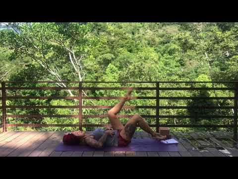Beginner Friendly CORE Integration Yoga Flow with Steph Gongora - Casa Colibri