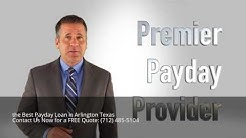 Payday Loan Near Me Arlington Texas