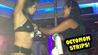 OCTOMOM STRIP PICS: Nadya Suleman Hot Stripping Pictures
