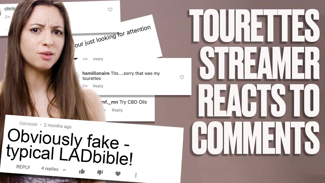Twitch Streamer With Tourettes Responds to Internet Trolls I LADbible