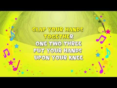 Wind the Bobbin Up | Karaoke | Action Song  | Nursery Rhyme | KiddieOK