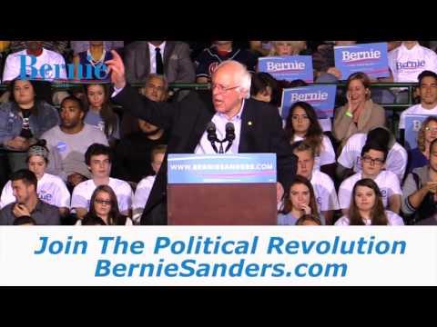 Bernie Sanders For President 2016 Nashua, NH EW1 mp4