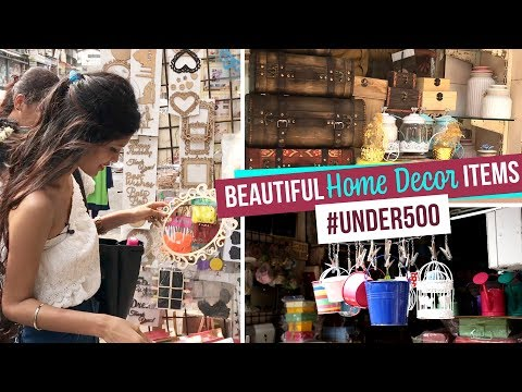 Beautiful Home Decor Items #Under500 | Ep 07 | Pinkvilla | Lifestyle | Crawford Market Shopping