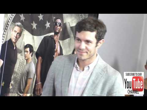 Adam Brody at the Premiere Of Crackle's Startup at London Hotel in West Hollywood