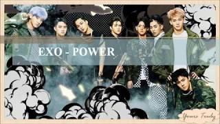 Video EXO - POWER [EASY LYRICS] download MP3, 3GP, MP4, WEBM, AVI, FLV Juli 2018
