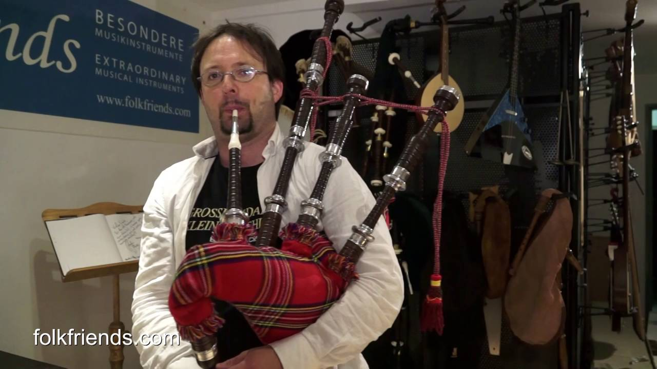 e58fff1163 Bagpipes Starter Kit - Great Highland Bagpipe - Dudelsack - YouTube