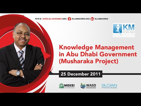 Knowledge Management in Abu Dhabi Government (Musharaka Project)