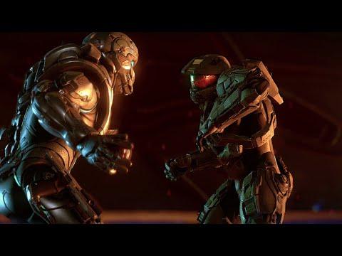Halo 5: Guardians - Chief And Locke Fight Scene