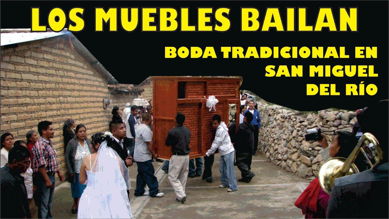 BODA TRADICIONAL EN SAN MIGUEL DEL RIO, OAX.