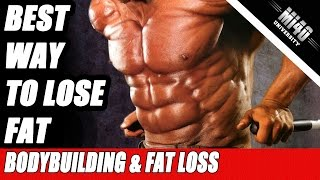How to Lose Fat, Optimize Bodybuilding Fat Loss Nutrition