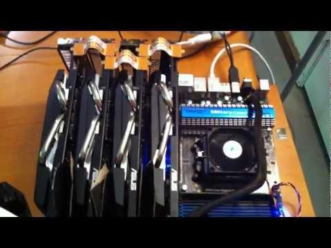 Radeon 5850x4 bitcoin miner